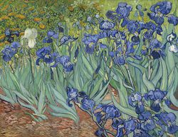 Irises, by
