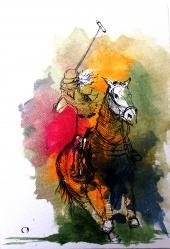 polo horse